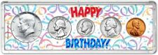 Happy Birthday Coin Gift Set, 1965