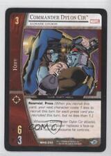 2006 Booster Pack Base #MHG-050 Commander Dylon Cir (Lunatic Legion) Card 3v2