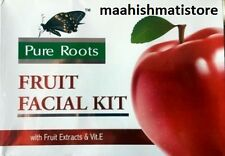 Pure Roots™ Fruit Facial Kit with fruit extracts & Vit E 80 gm free shipping