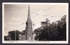 Australia Victoria TOORAK St John's Church of England c1910/30s? RP PPC by Rose