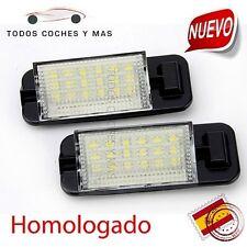 PLAFONES LED MATRICULA BMW E36 HOMOLOGADOS E11 CE LUCES LUZ PLACA ENVIO 24h GRAT