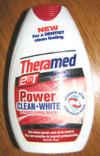 Dentifrice THERAMED 2in1 POWER blancheur * Clean + White  * 75 ml * 100 % NEUF