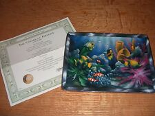 Colors of Paradise by Miller Collector's Plate - Franklin Mint