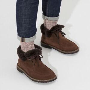 Birkenstock Bakki Leder Stiefel gefüttert normal espresso Boots 1017277 NEU