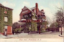 pre-1907 HOPE CLUB, PROVIDENCE, R.I.