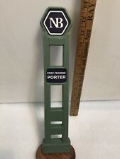 Narrows Brewing Post Tension Porter draft beer tap handle. Washington.