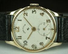 1947 Lord Elgin 14K Solid Gold Cal. 556 Vintage Watch 21J 28mm