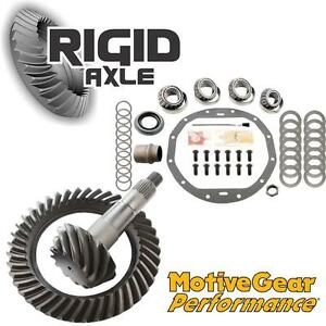 "3.73 Motive Performance Ring Pinion Gear Set Bearing Kit GM 8.875"" 12 Bolt Car"