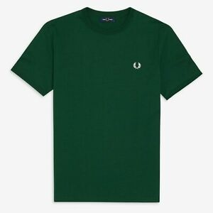 Fred Perry M3519 Ringer T Shirt Ivy, Mod Ska, Scooter, SALE