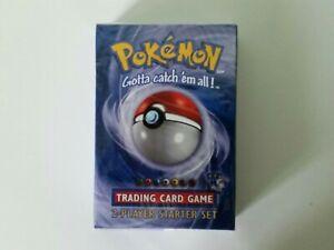 Pokemon Trading Card Game 2-Player Starter Set 1999 New Factory Sealed
