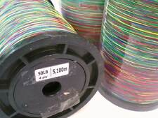 Tresse dyneema bobine 5000 M multicolore 50/60/80 lbs