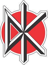 "Dead Kennedys Music Bumper sticker, wall , vinyl, bumper   5""x 3.7"""