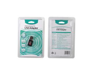 Mini USB WiFi Dongle Stick 802.11 B/G/N Wireless Network Adapter Laptop PC TV