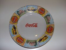 "Coca Cola 9"" Salad Plate by Gibson - ""Good 'Ole Days"" Pattern"