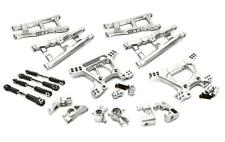 Integy Aluminum Alloy Suspension Kit : Traxxas 1/10 Rustler 4X4 C28738SILVER