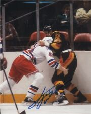 Vancouver Canucks Tiger Williams Signed Autographed 8x10 NHL Photo COA G