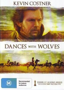 Dances with Wolves DVD Kevin Costner New Sealed Australia