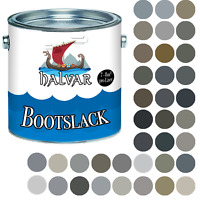 Halvar PU Bootslack MATT Grau RAL 7000 - 7047 Yachtlack Metall & Holz