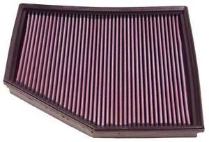 K&N PANEL FILTER - BMW 2003-2008 520i,540i,545i,550i,645i,650i - KN 33-2294