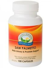 Nature's Sunshine Saw Palmetto 550mg 100 Capsules | Natures