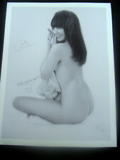 "Jon Hul ""On A Claire Day"" Featuring Claire Sinclair Signed Giclee 24x36 2/95"