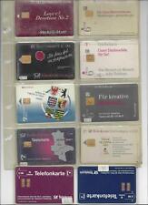 bessere Deutschland A, B, O, P Telefonkarten top Qualität 13 Stück