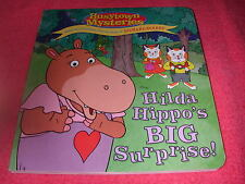 6 BUSYTOWN MYSTERIES HILDA HIPPO'S BIG SURPRISE BOOK RICHARD SCARRY BRAND NEW!!