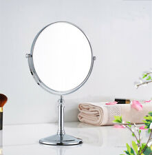 Polished Chrome Magnifying Makeup Mirror 360 Degree Dual Sided Cosmetic Mirrors
