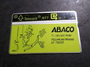 TELECARTE BELGIQUE, ABACO FELLING N° 31