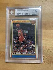 Michael Jordan 1988-89 Fleer All Star #120 BGS 5.5 EX-MT - HOF - Chicago Bulls