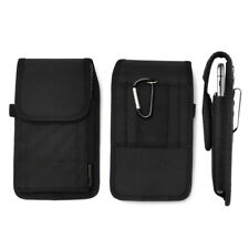 Universal Nylon Belt Hook Pouch Case Holster Fastener Bag for Apple iPhone Model