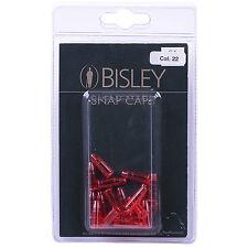 Bisley .22 PLASTIC Rifle Pistol Snap Caps [20 Pack] .22 5.5mm Calibre Practice