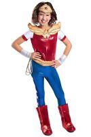 Premium DC SUPERHERO GIRLS Wonder Woman Wonderwoman Child Costume NEW