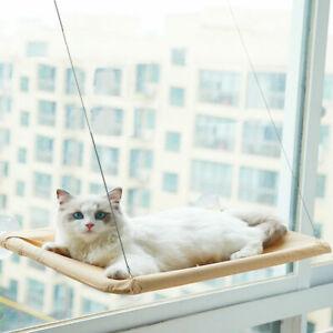 Cat Sunny Seat Window Mount Pet  Hammock Comfortable Hanging Beds Bearing 1 FH