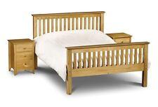 Robust Barcelona Bed by Julian Bowen Pine White 3FT 4FT 4FT6 5FT