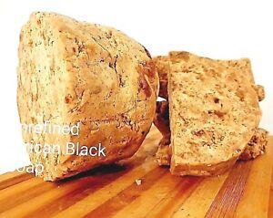 "African Black Soap UNREFINED ""Clear Acne/Eczema/Rash/Rosacea/Dark Spot 100gram"