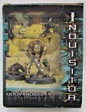 Inquisitor Quovandius Sealed Box RARE OOP Citadel Games Workshop FREE SHIP
