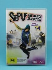 Step Up (DVD, 2012, 4-Disc Set) Channing Tatum, Briana Evigan, 💛 Region 4