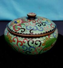Chinese Cloisonne Enamel Covered Bowl
