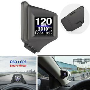 Head Up Display Projector Car Truck Speedometer Universal HUD Projector OBD GPS