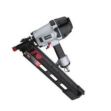 Husky Pneumatic Framing Nailer 21-Degree 3-1/2 in. Full Round Head Corded