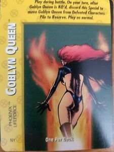 Marvel Overpower X-Men Goblyn Queen Phoenix Lifeforce NrMint-Mint Condition
