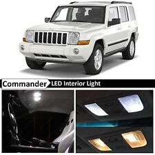 12x White LED Lights Interior Package Kit 2006-2010 Jeep Commander + TOOL