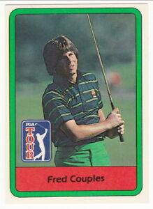 FRED COUPLES - 1982 Donruss PGA Tour Golf rookie card #53