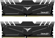 Team Dark Za Alpha 32GB (16GX2) DDR4 3600MHz PC4-28800 CL18 Gaming Memory RAM
