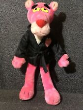 VINTAGE 1987 MACY'S PINK PANTHER HUGH HEFNER PLAYBOY POSEABLE PLUSH DOLL FIGURE