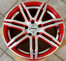 4 ASA Felgen GT 2 8 X 17 5 X 112 35 rot-glanz-frontpoliert