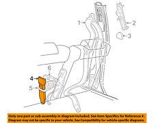 FORD OEM Front Seat Belt-Buckle End Left 8W1Z5461203AC