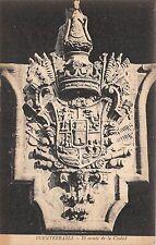 B93459 el escudo de la ciudad   fuenterrabia postcard    spain