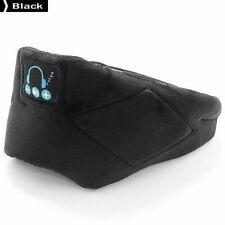 Bluetooth 5.0 Sleep Music Handsfree Call Headband Eye Mask Full Shading Black